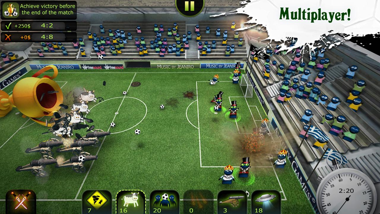 Android用 FootLOL: Crazy Soccer! Action Football game