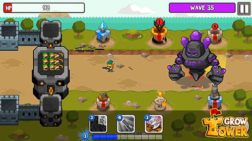 Grow tower: Castle defender TD für Android