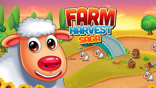 Sheep farm story 2: Township. Farm harvest saga Symbol