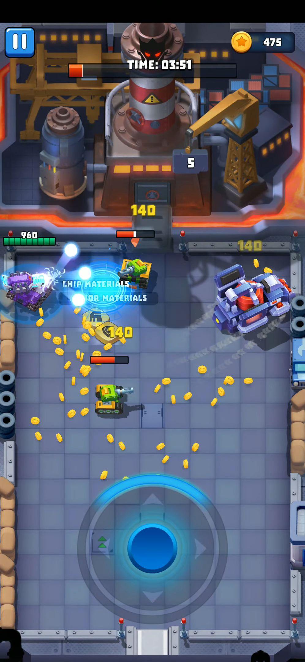 Tank Hero - Fun and addicting game screenshot 1