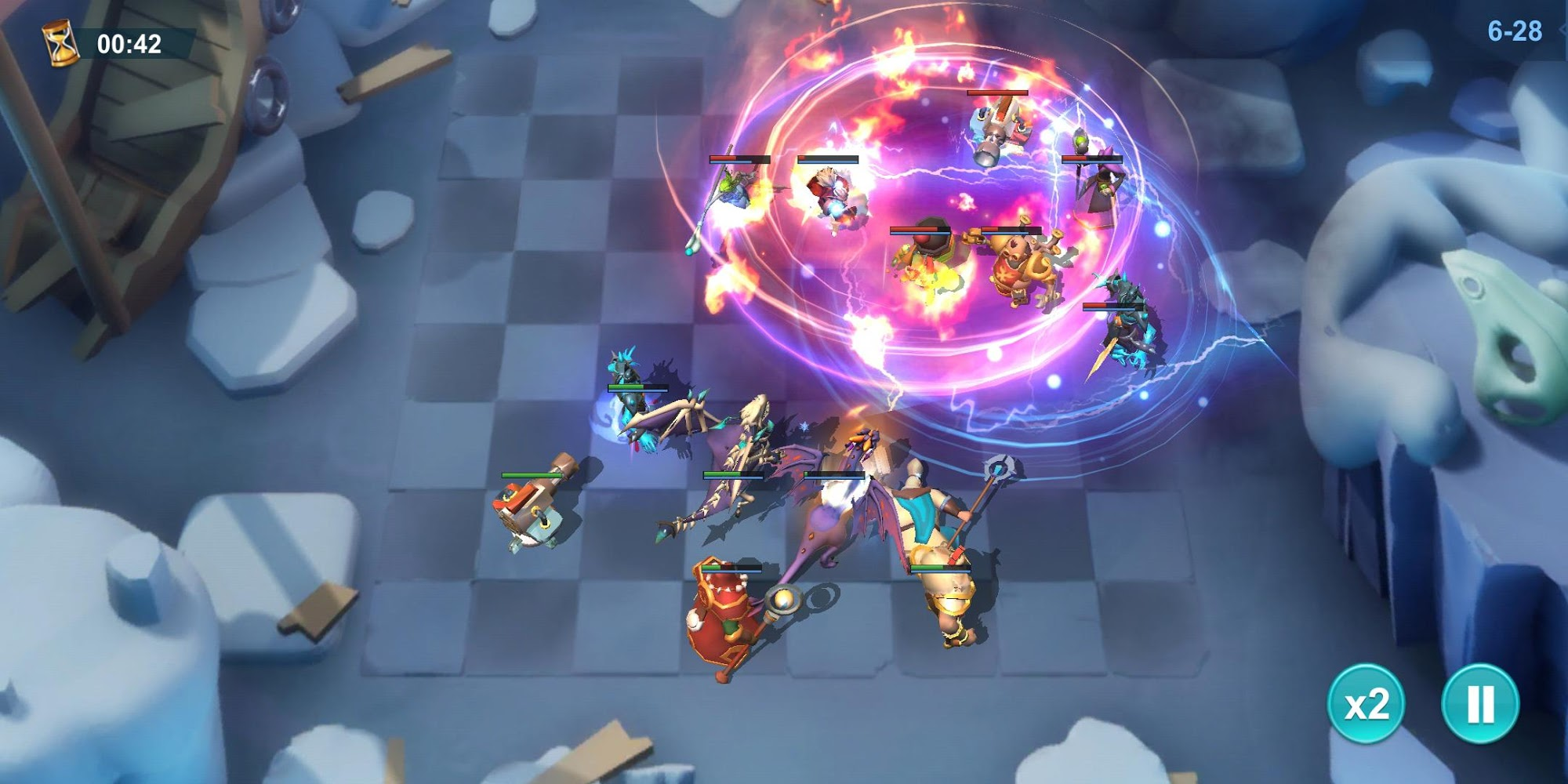 Idle Legend- 3D Auto Battle RPG для Android