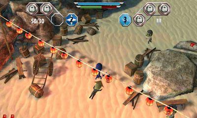 Finger Ninjas Zombie Strike-Force Screenshot