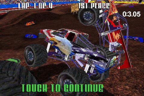 レース: 電話に モンスタートラックレーシングをダウンロード