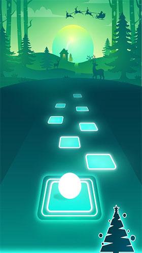 Arcade Tiles hop: EDM rush! für das Smartphone