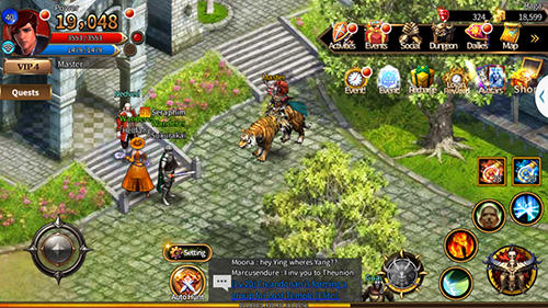 Online RPG Arcane online auf Deutsch