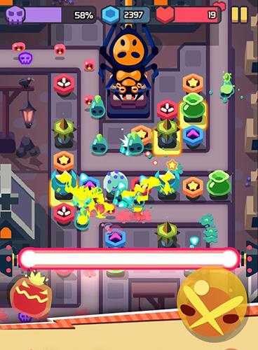 Toys defense: Horror land für Android