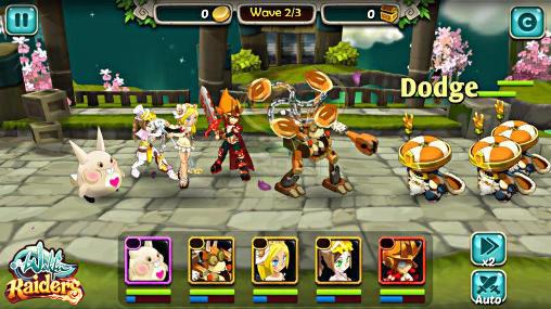 RPG Wakfu raiders für das Smartphone