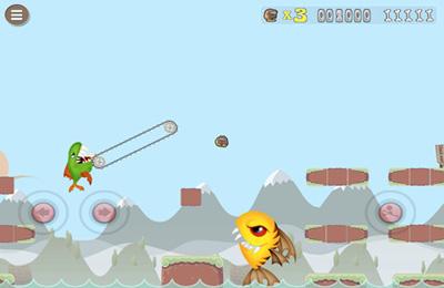 Arcade-Spiele: Lade Abenteuer von Höhlenmensch Karl auf dein Handy herunter