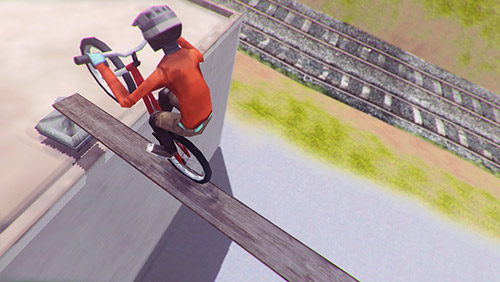 Screenshot Pedal up! on iPhone