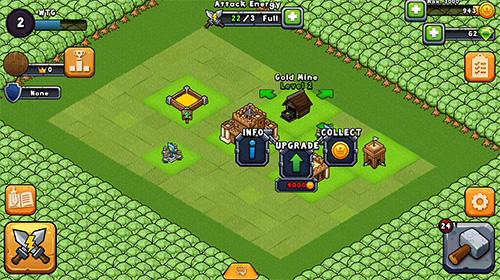 Online Mini kingdoms für das Smartphone