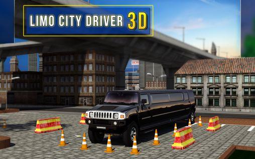 Limo city driver 3D captura de pantalla 1