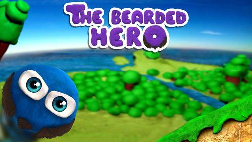 логотип Бородатый герой