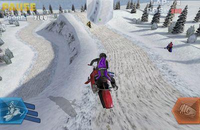 Rennspiele: Lade Das Snowbike-Rennen auf dein Handy herunter