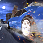 Turbo fast city racing 3D Symbol