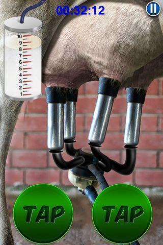 Captura de tela Ordenhe a vaca profissional no iPhone