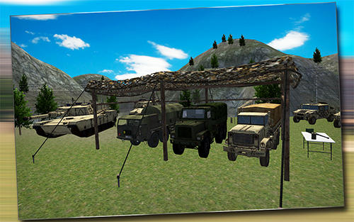 Simuladores de condução Army truck driver 3D em portugues