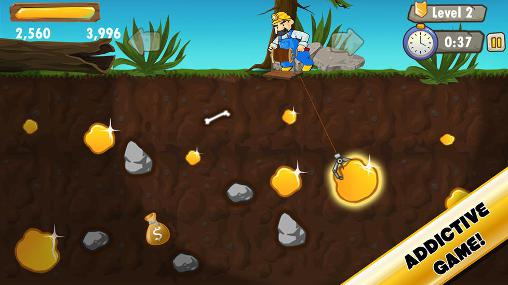 Gold miner saga for Android