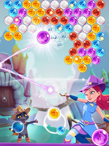 Bubble witch 3 saga captura de pantalla 3