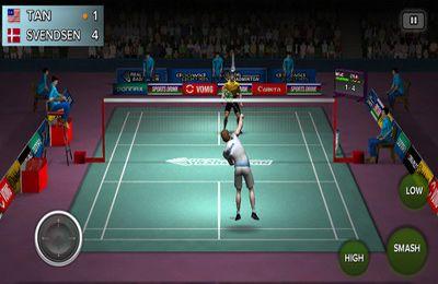 Echtes Badminton auf Deutsch