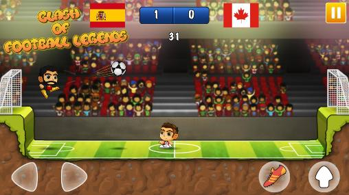 Clash of football legends 2017 für Android