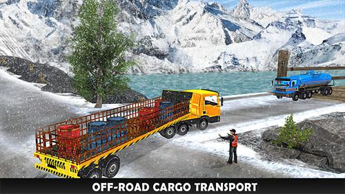 Simulation Uphill extreme truck driver 3D für das Smartphone