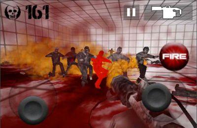 La Pièce de Zombie en russe