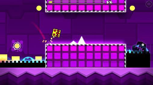 Arcade-Spiele Geometry dash: Meltdown für das Smartphone