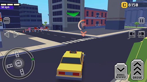 Crazy car: Fast driving in town为Android