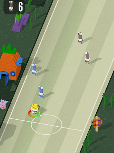 Football games Sponge Bob soccer in English