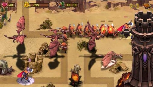 Epic defense: Fire of the dragons for Android