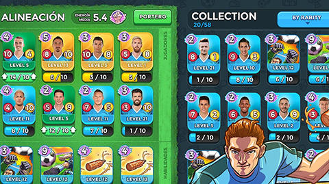 Top stars football für Android
