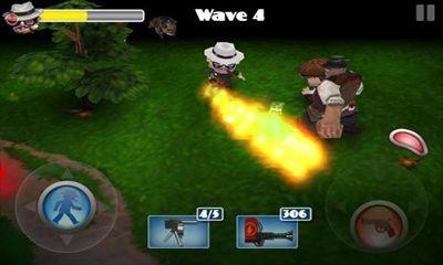Actionspiele Mafia Rush für das Smartphone