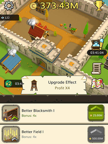 Idle medieval tycoon: Idle clicker tycoon game für Android