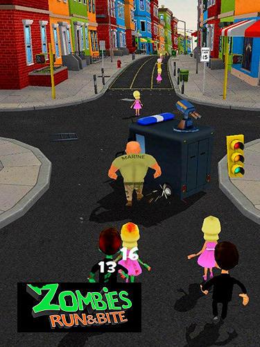 Zombies: Run and bite captura de pantalla 1