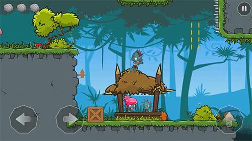Arcade-Spiele Hard to be a zombie: Brain quest! für das Smartphone