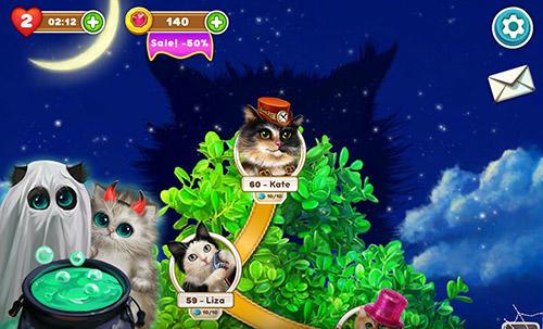 Cute cats: Magic adventure Screenshot