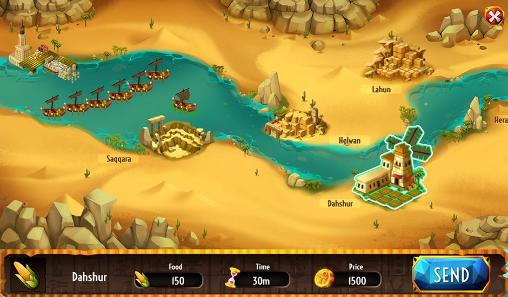 Age of pyramids: Ancient Egypt для Android