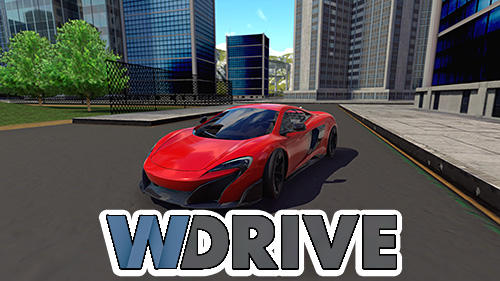 wDrive: Extreme car driving simulator captura de tela 1