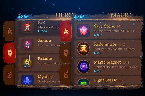 Dark slash: Hero for iPhone