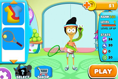 Nickelodeon all stars tennis for iPhone
