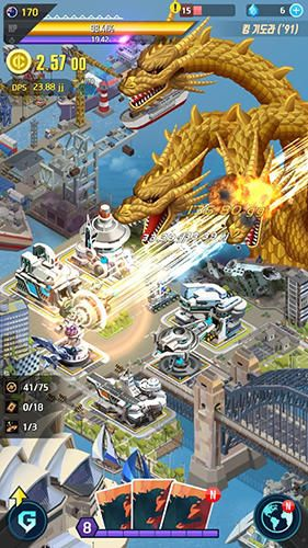 Godzilla defense force на русском языке