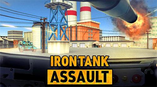 Iron tank assault: Frontline breaching storm Screenshot