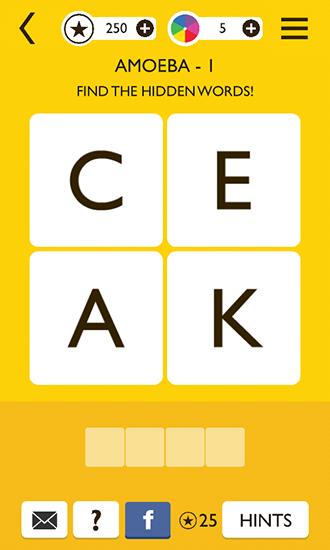 Word up: Word game auf Deutsch