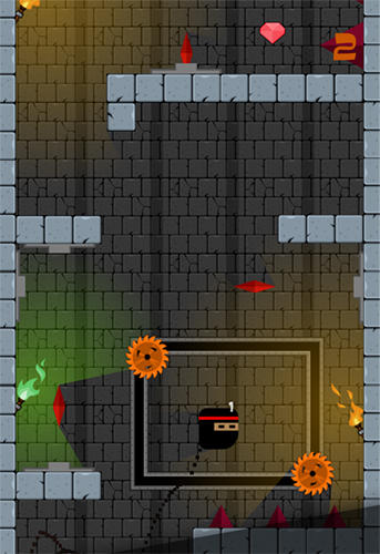Arcade-Spiele Ninja hop für das Smartphone