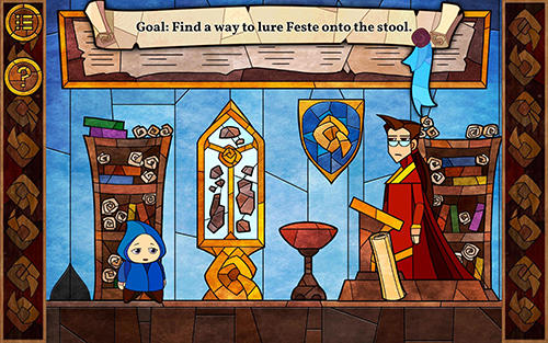 Message quest: Adventures of Feste für Android