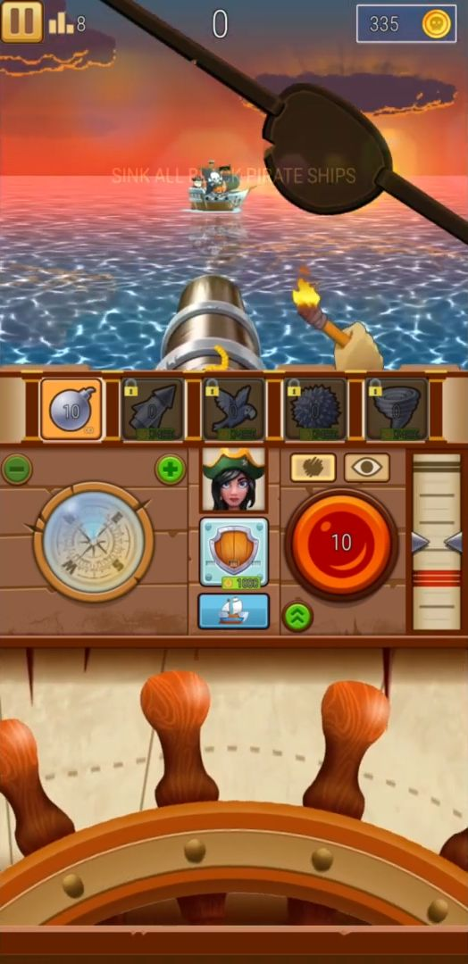 Pirate Bay - action pirate shooter. Aim and shoot para Android