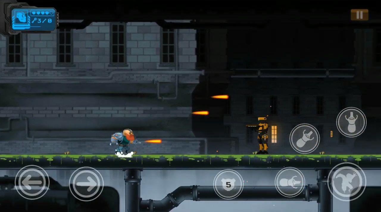 Guntoss: Cyborg Arm для Android