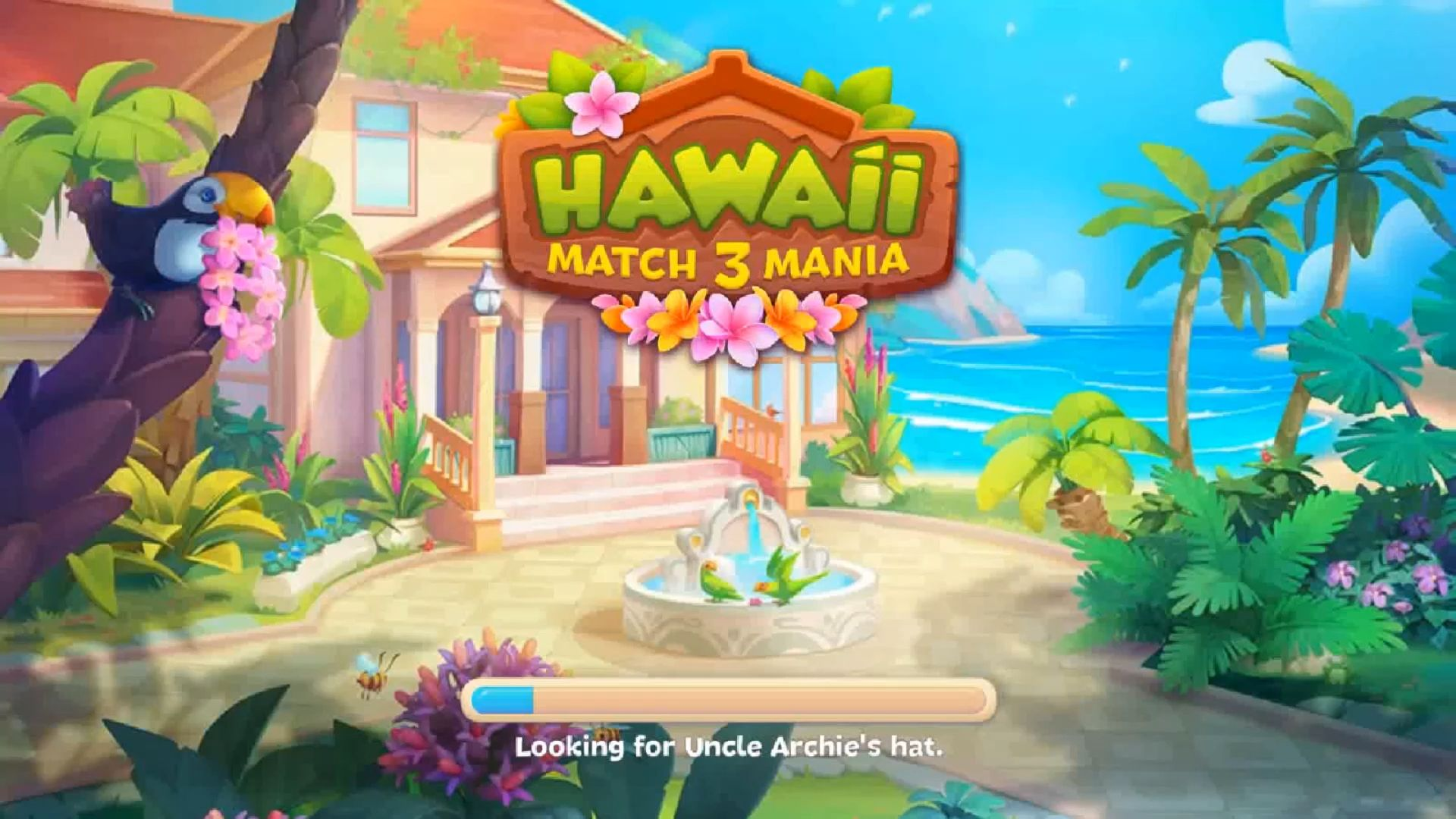 Hawaii Match-3 Mania Home Design & Matching Puzzle screenshot 1