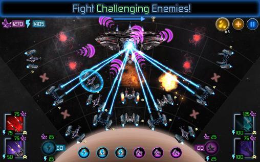 Strategiespiele Interstellar defense für das Smartphone
