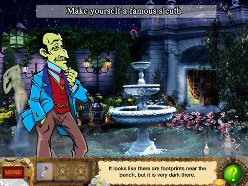 Jogos de agilidade mental: faça o download de Detetive Holmes: Armadilha para o caçador - aventura de objetos escondidos para o seu telefone